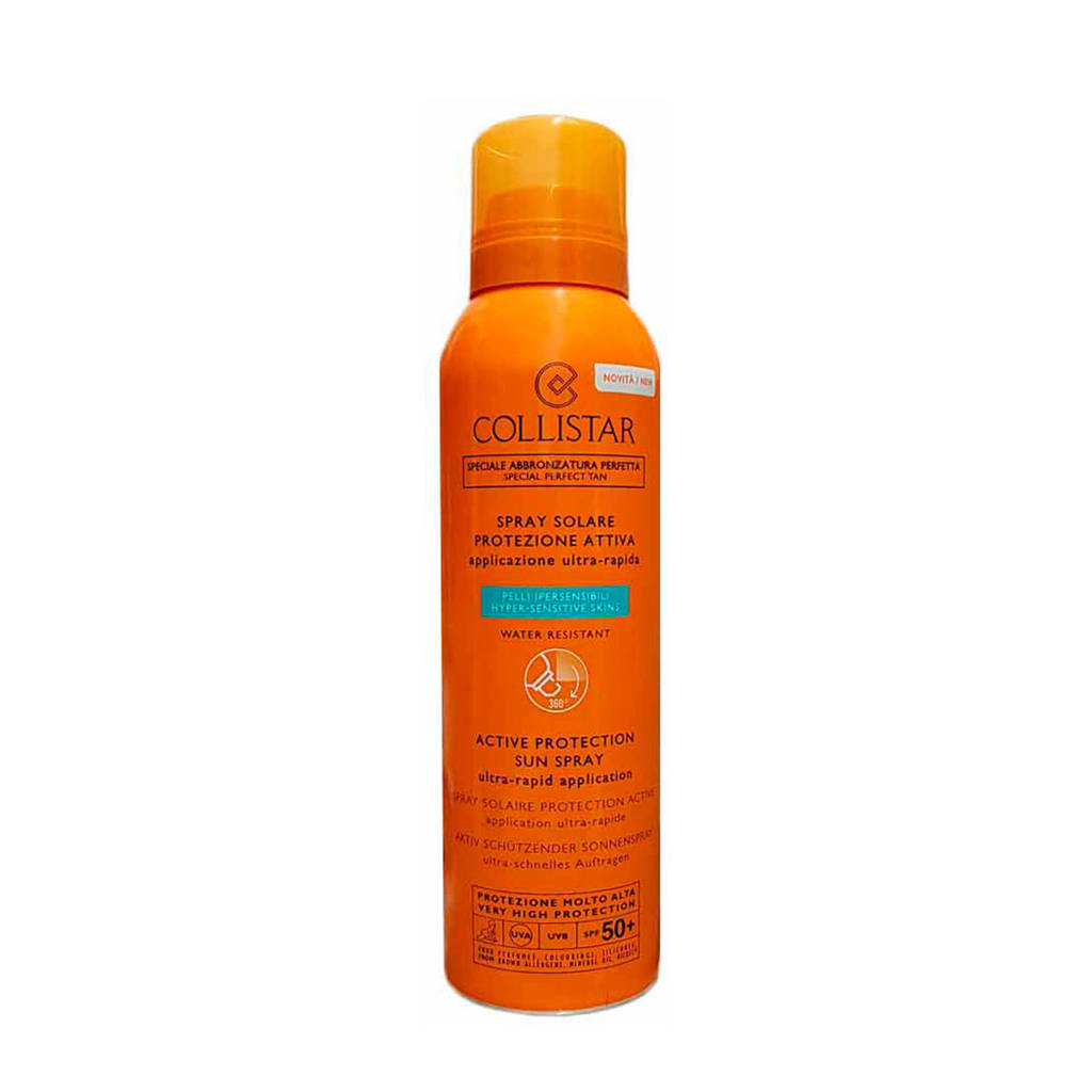 Collistar Sun Active Protection Sun Spray SPF50+ zonnebrand - 150 ml