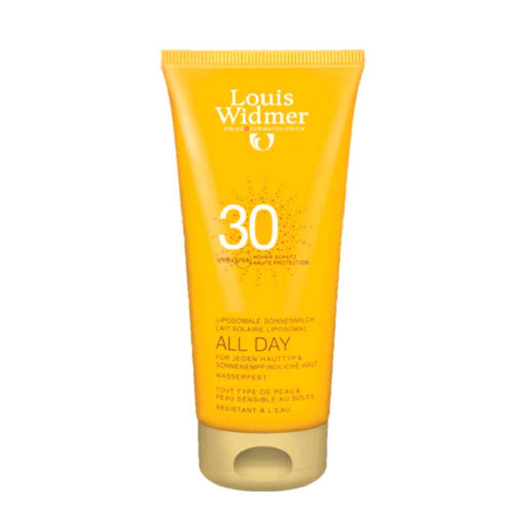 Louis Widmer Sun All Day SPF30 zonnebrand - 200 ml