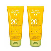 Louis Widmer All Day SPF20 Duo zonnebrand - 100 ml