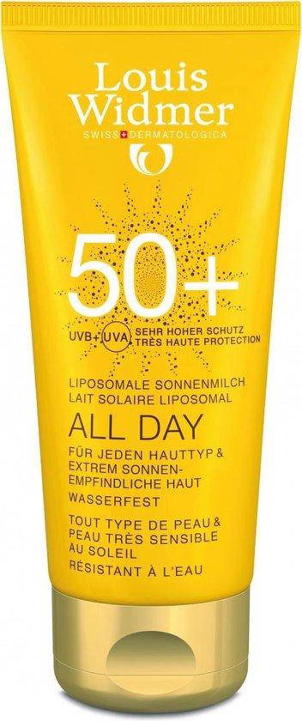 Louis Widmer Sun All Day SPF50 zonnebrand - 100 ml
