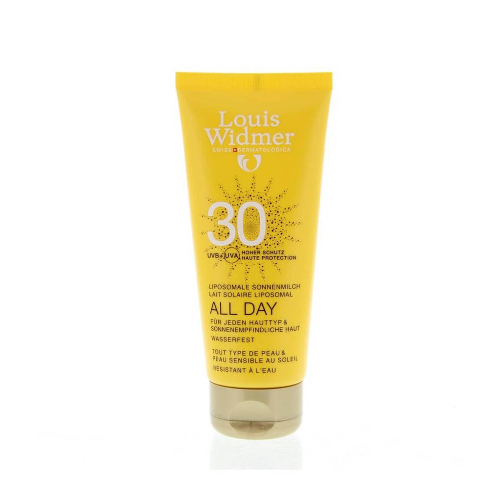 Louis Widmer All Day 30 zonnebrand - 100 ml