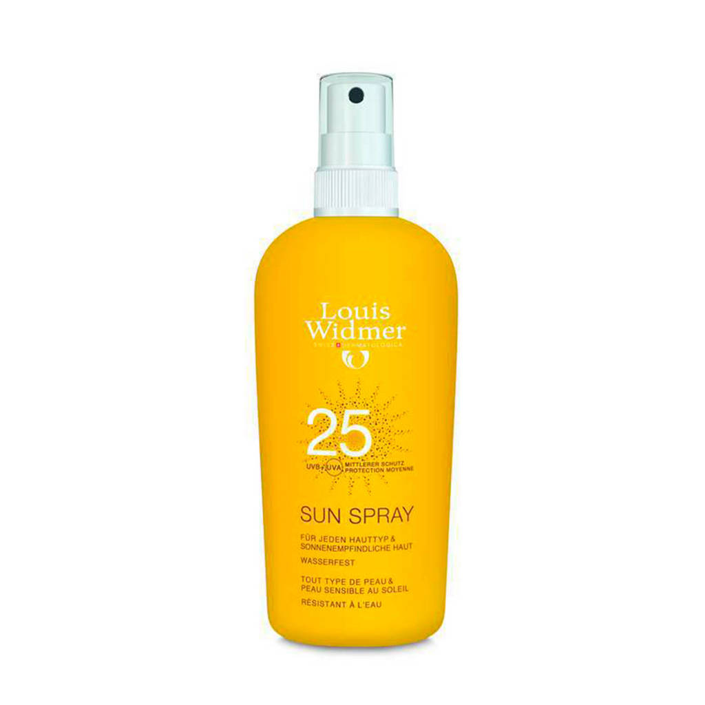 Louis Widmer Sun Spray SPF25 zonnebrand - 150 ml