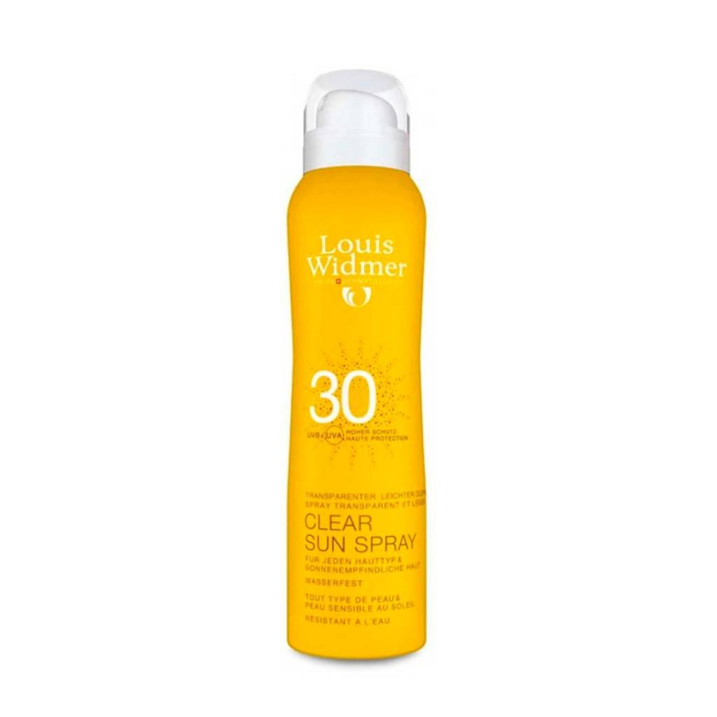 Louis Widmer Clear Sun Spray SPF30 zonnebrand - 125 ml