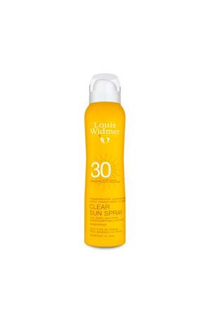 Clear Sun Spray SPF30 zonnebrand - 125 ml