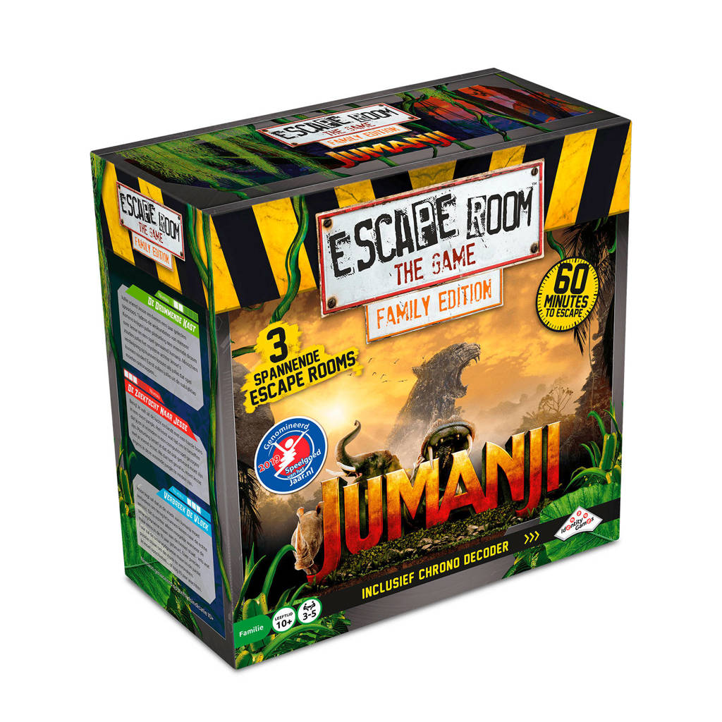 Identity Games Escape Room The Game Jumanji denkspel