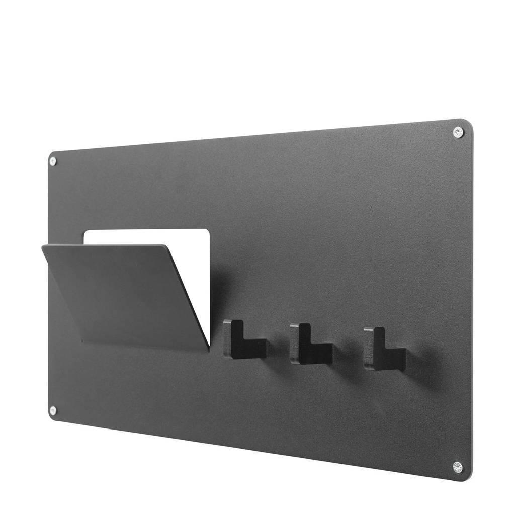 Spinder Design kapstok Leatherman Mail, Zwart