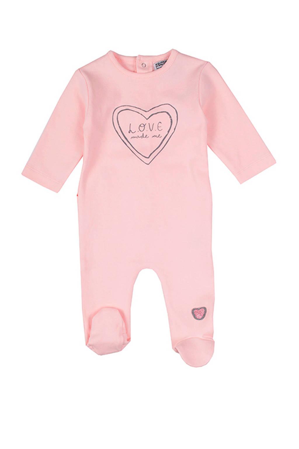 Zero2three baby boxpak met print roze, Lichtroze