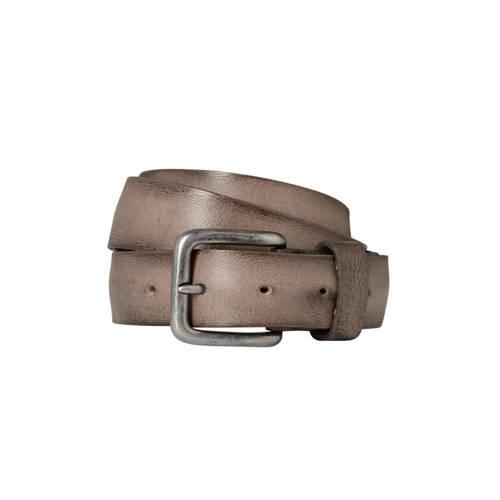 Cowboysbag Cowboysbelt leren riem taupe