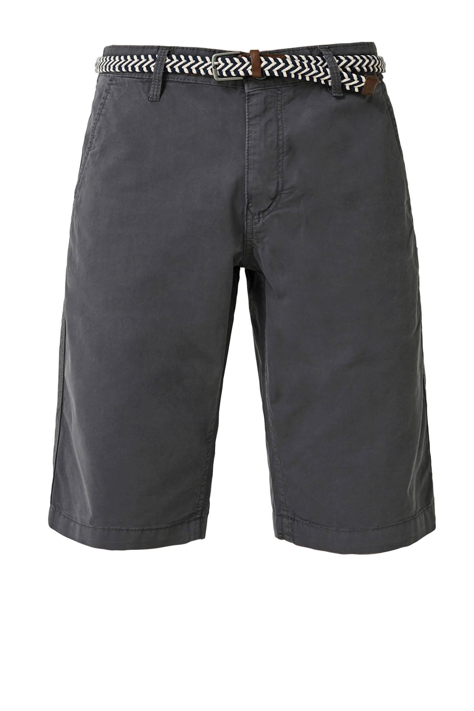 QS designed by slim fit jeans Rick met slijtage | wehkamp