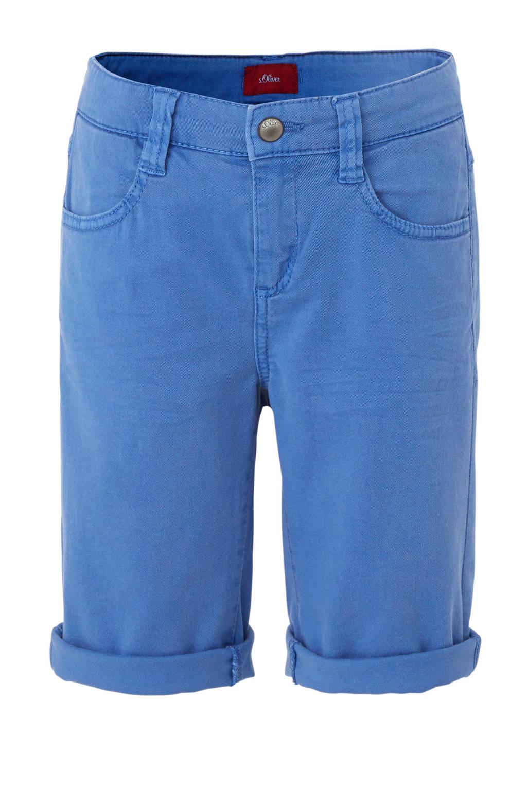 s.Oliver short blauw, Blauw