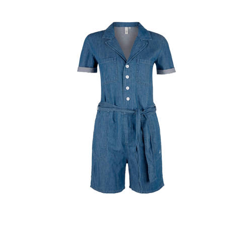 Q-S designed by playsuit dark denim