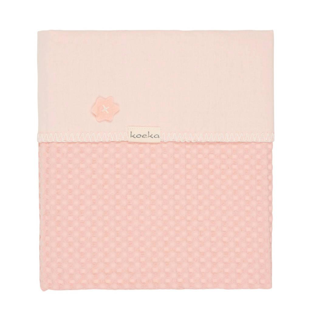 Koeka Antwerp baby wiegdeken roze 75x100 cm, Roze