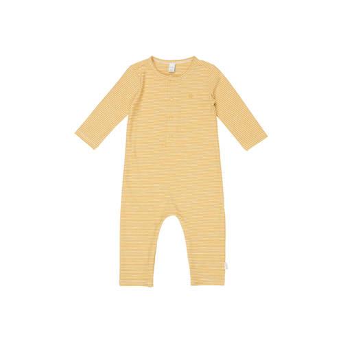 Koeka newborn baby gestreept boxpak Linescape oker
