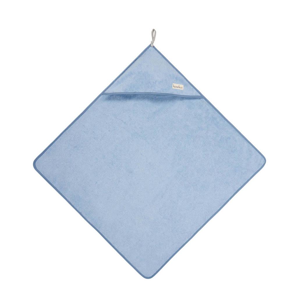Koeka Dijon badcape lichtblauw, Lichtblauw