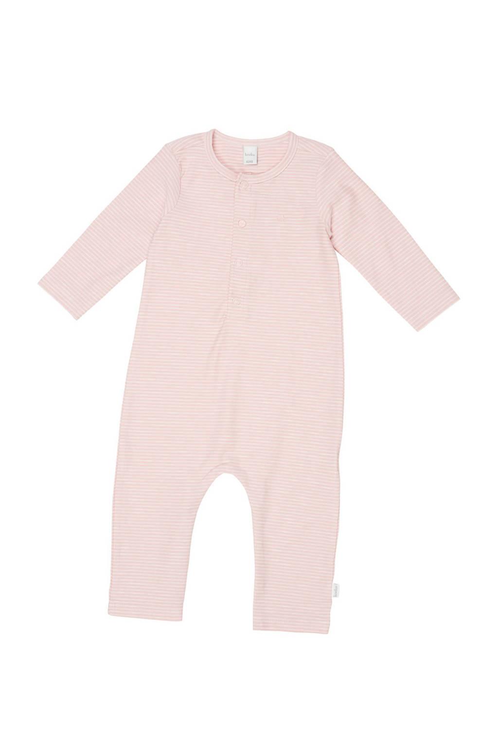 Koeka newborn baby gestreept boxpak Linescape roze, Roze