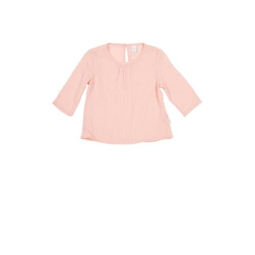 Koeka newborn baby top Dancing Dobby roze