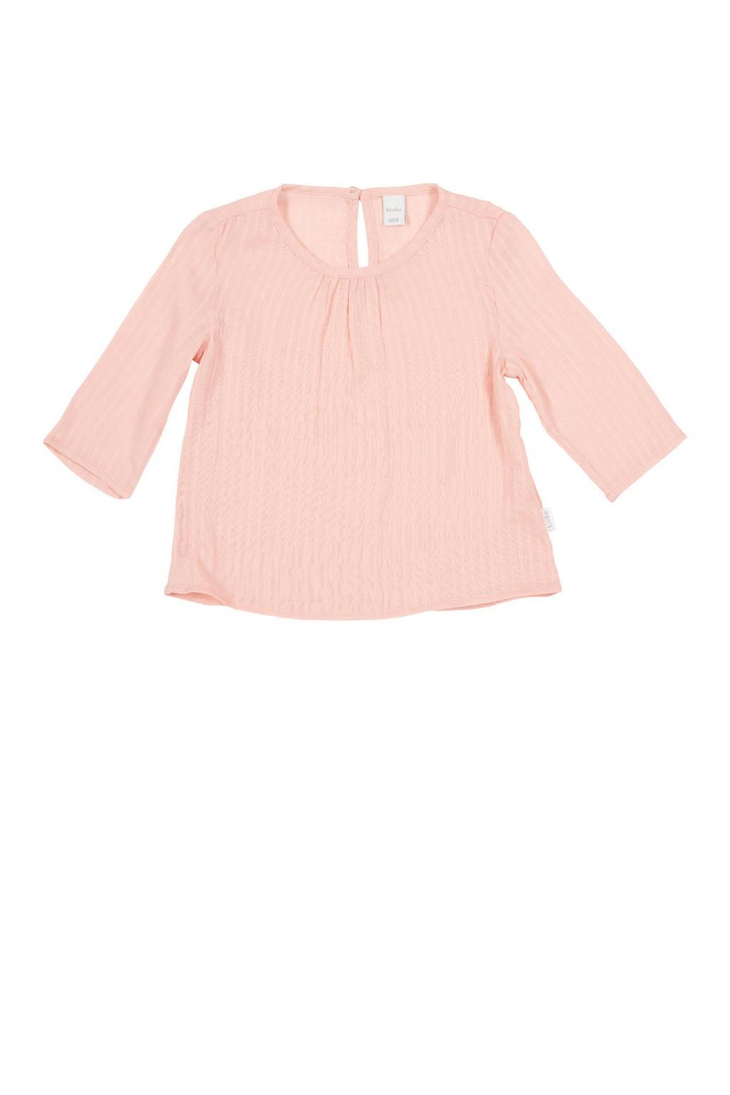 Koeka newborn baby top Dancing Dobby roze, Roze