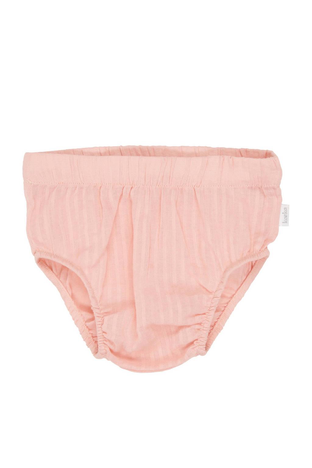 Koeka newborn baby bloomer roze, Roze