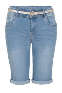 Miss Etam Regulier jeans short blauw, Light denim