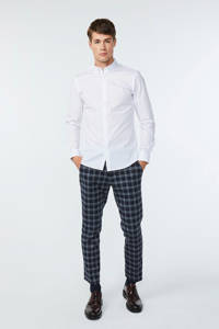 WE Fashion slim fit overhemd wit, Wit