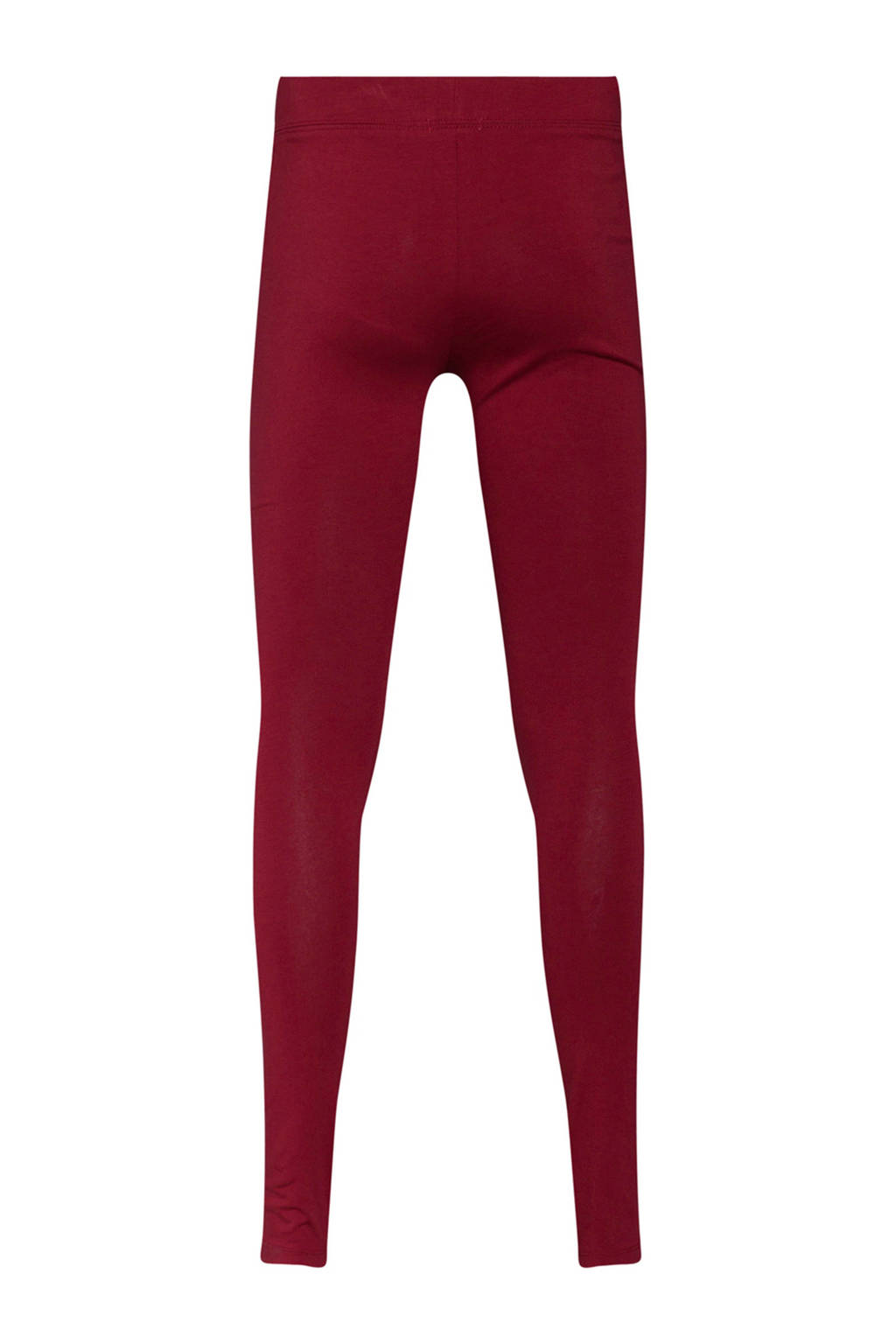 4866e946481 WE Fashion legging donkerrood, Donkerrood