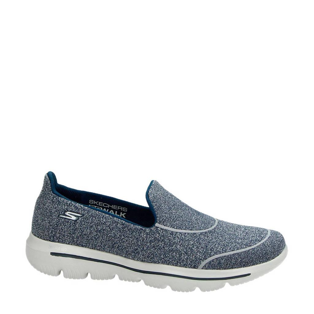 Skechers   Go Walk Evolution Ultra instappers blauw, Blauw