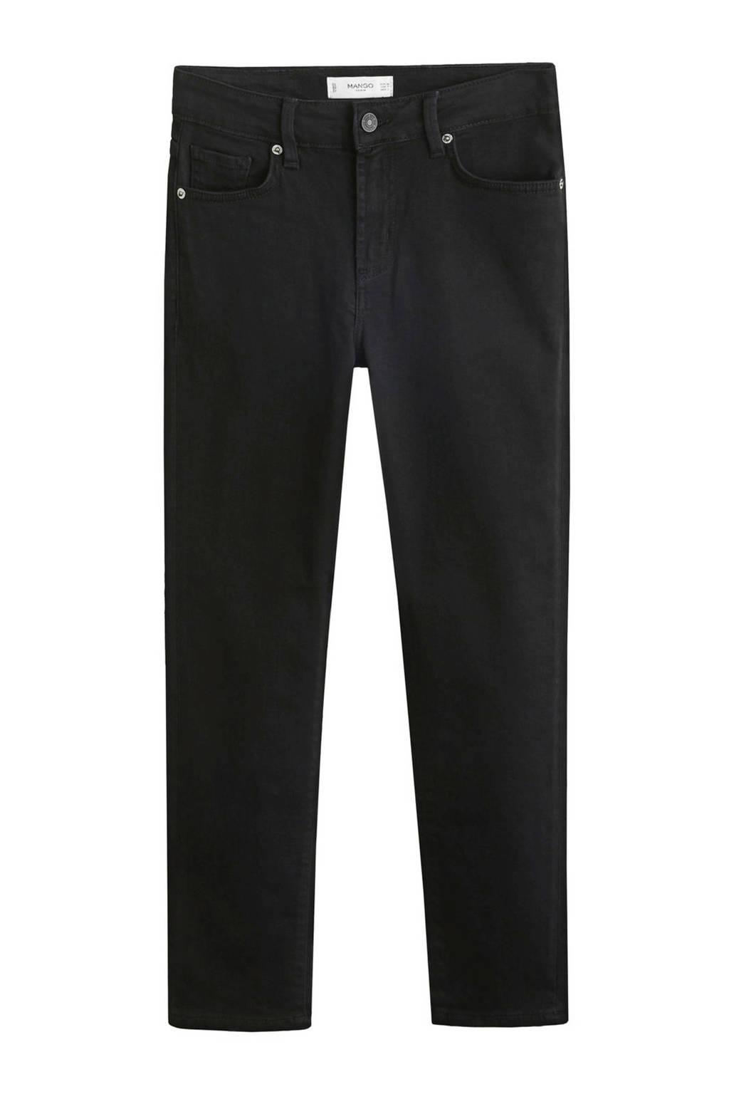 Mango skinny fit 7/8 jeans grijs, Grijs