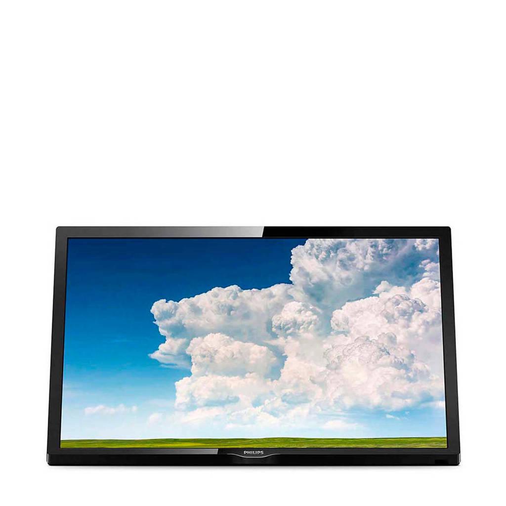 Philips 24PHS4304/12 24 inch LED tv, Zwart