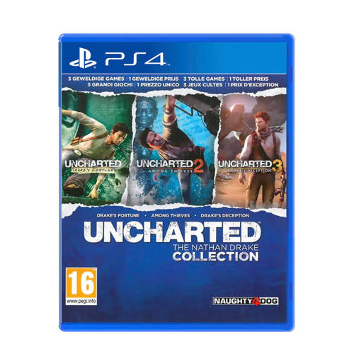 Unchartded The Nathan Collection PS4 (PlayStation