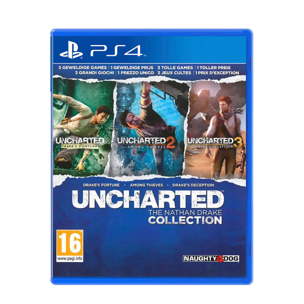 Unchartded The Nathan Collection PS4 (PlayStation 4), -