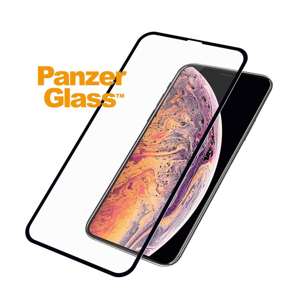PanzerGlass screenprotector iPhone XS Max, Transparant/zwart