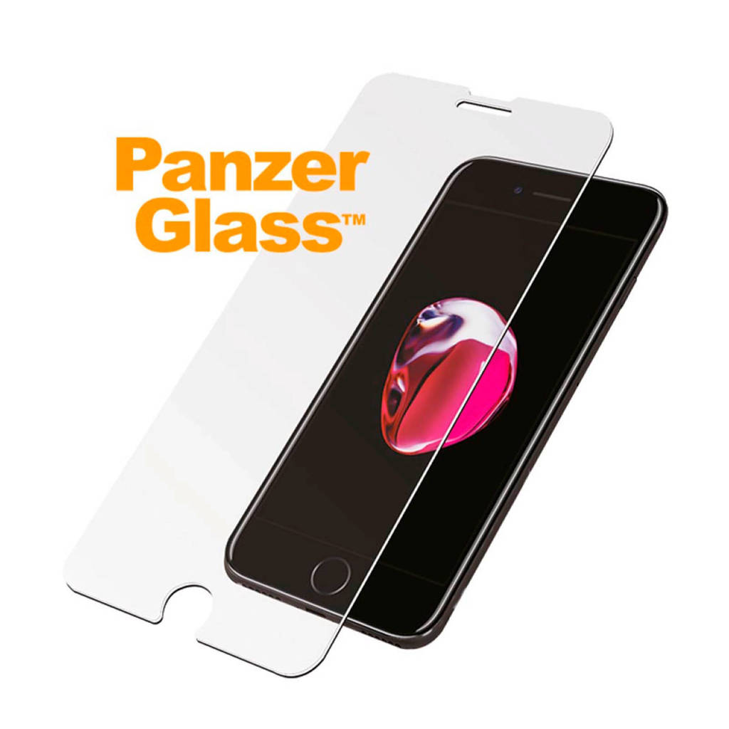 PanzerGlass iPhone 6/6S/7/8 screenprotector, Transparant