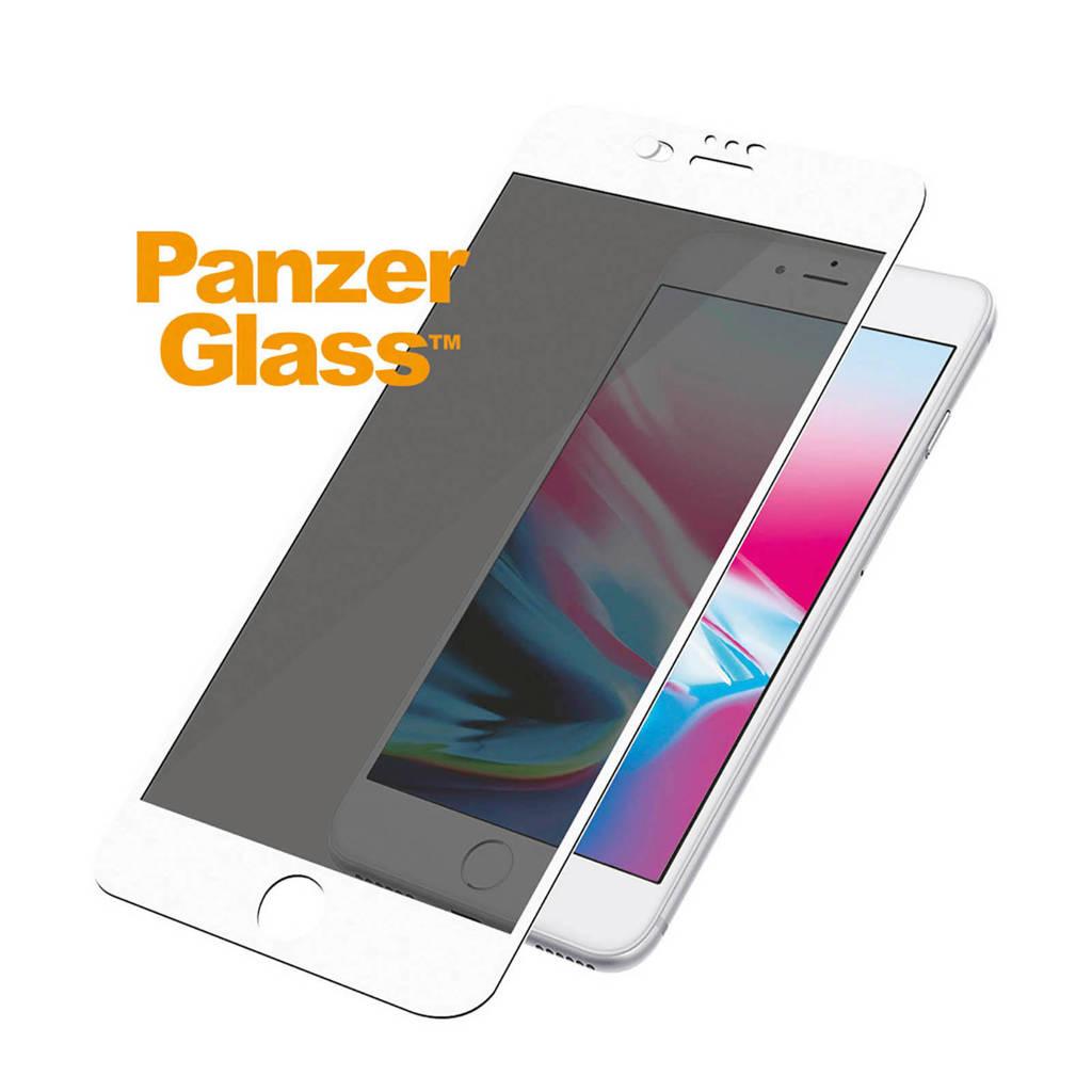 PanzerGlass screenprotector 7+/8+ camslider, Transparant/wit