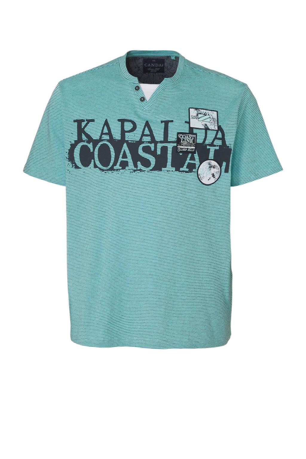 C&A XL Canda T-shirt, Mintgroen