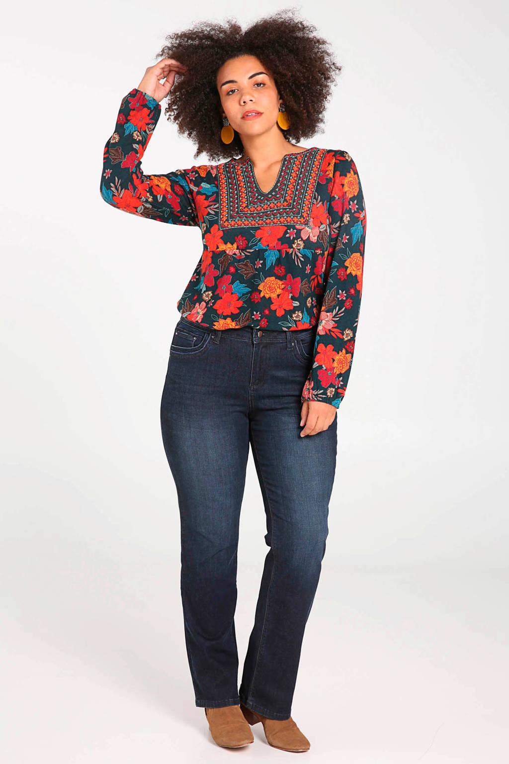 Paprika straight fit jeans, Dark denim