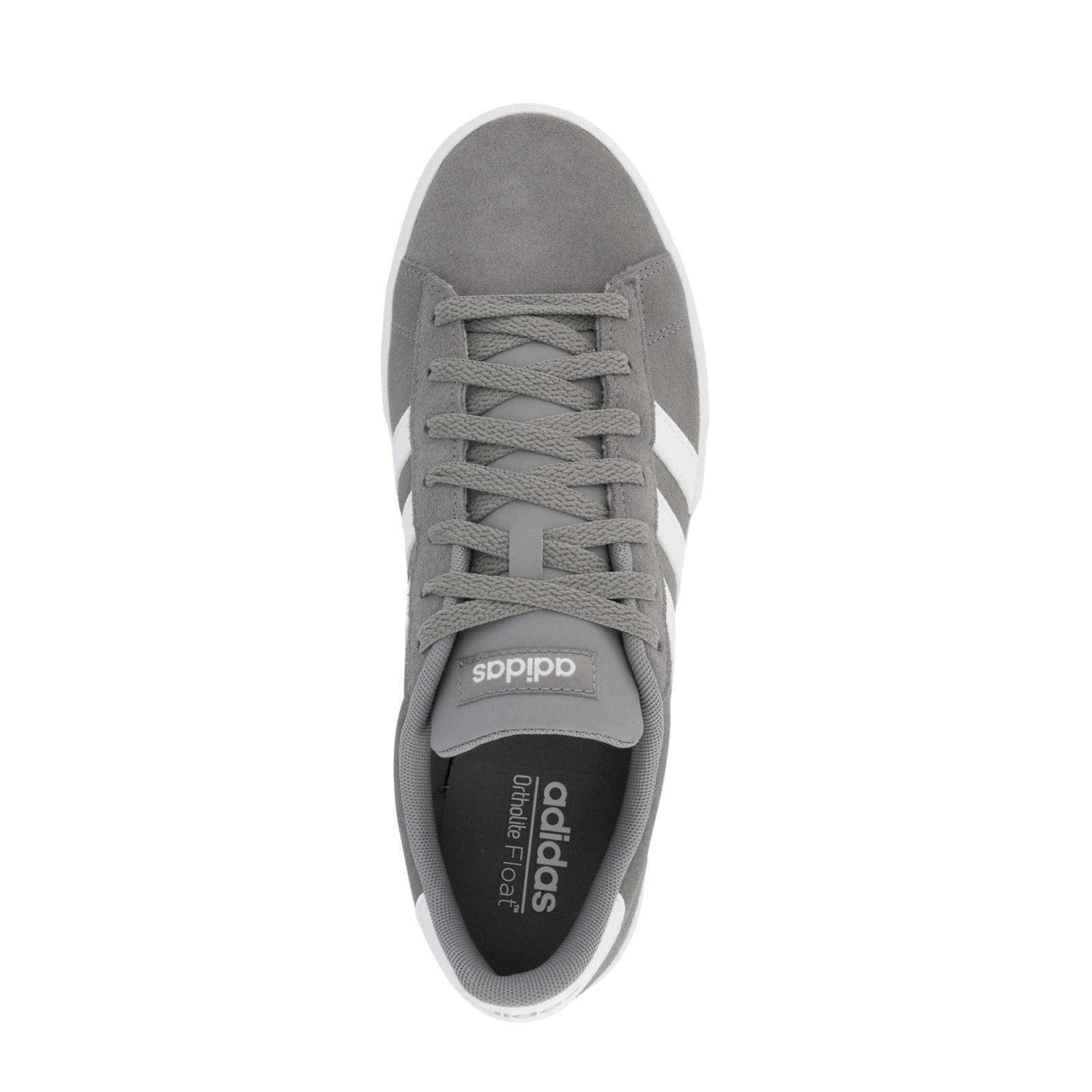 f476d7a4130 adidas Daily 2.0 suède sneakers grijs | wehkamp