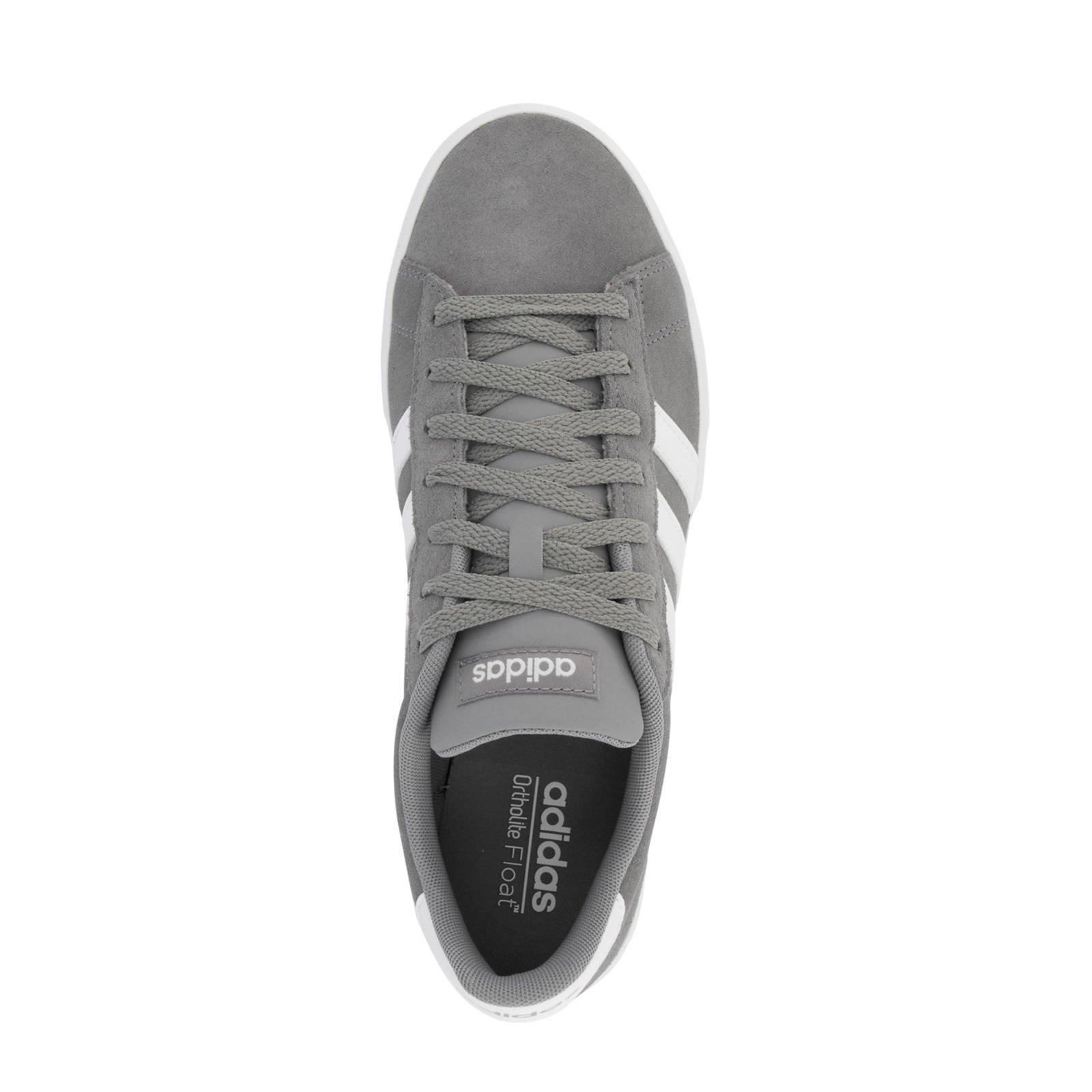 adidas Daily 2.0 suède sneakers grijs
