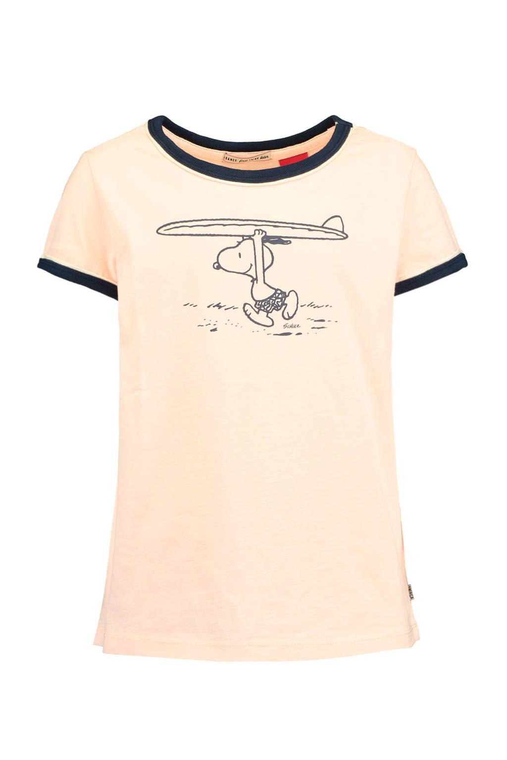 America Today Junior T-shirt met print lichtroze, Lichtroze