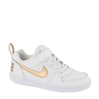 Court Borough Low sneakers wit/brons
