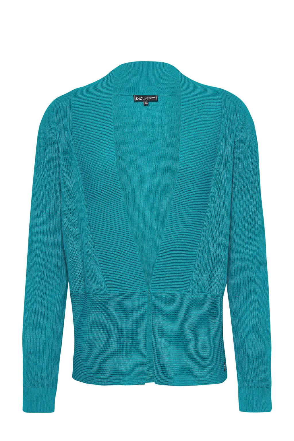 Didi vest turquoise, Turquoise