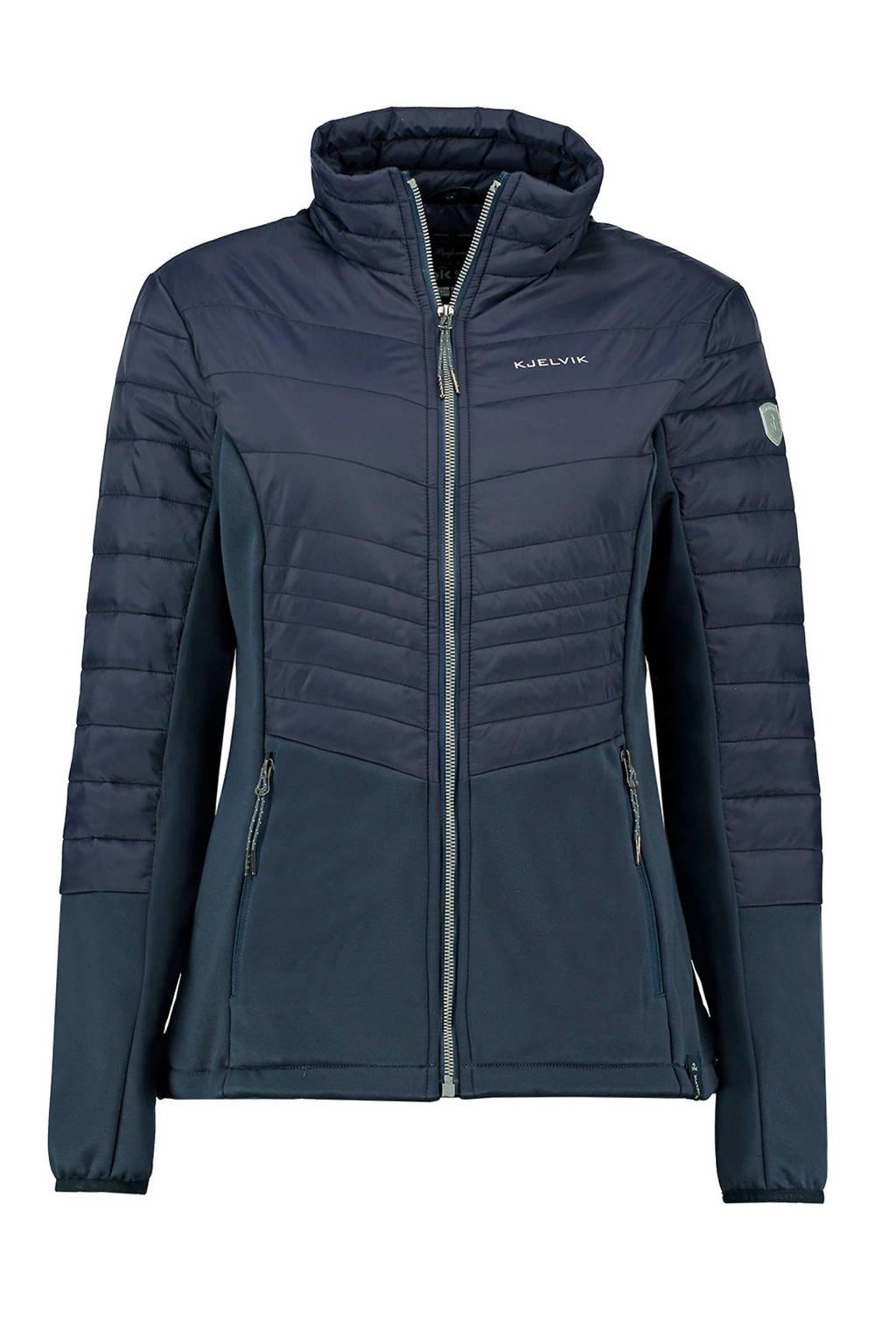 Kjelvik outdoor jas Edyna donkerblauw, Donkerblauw