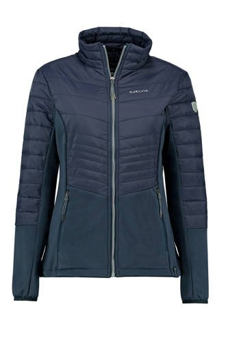 outdoor jas Edyna donkerblauw