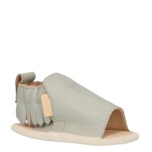 Noa leren sandalen grijs
