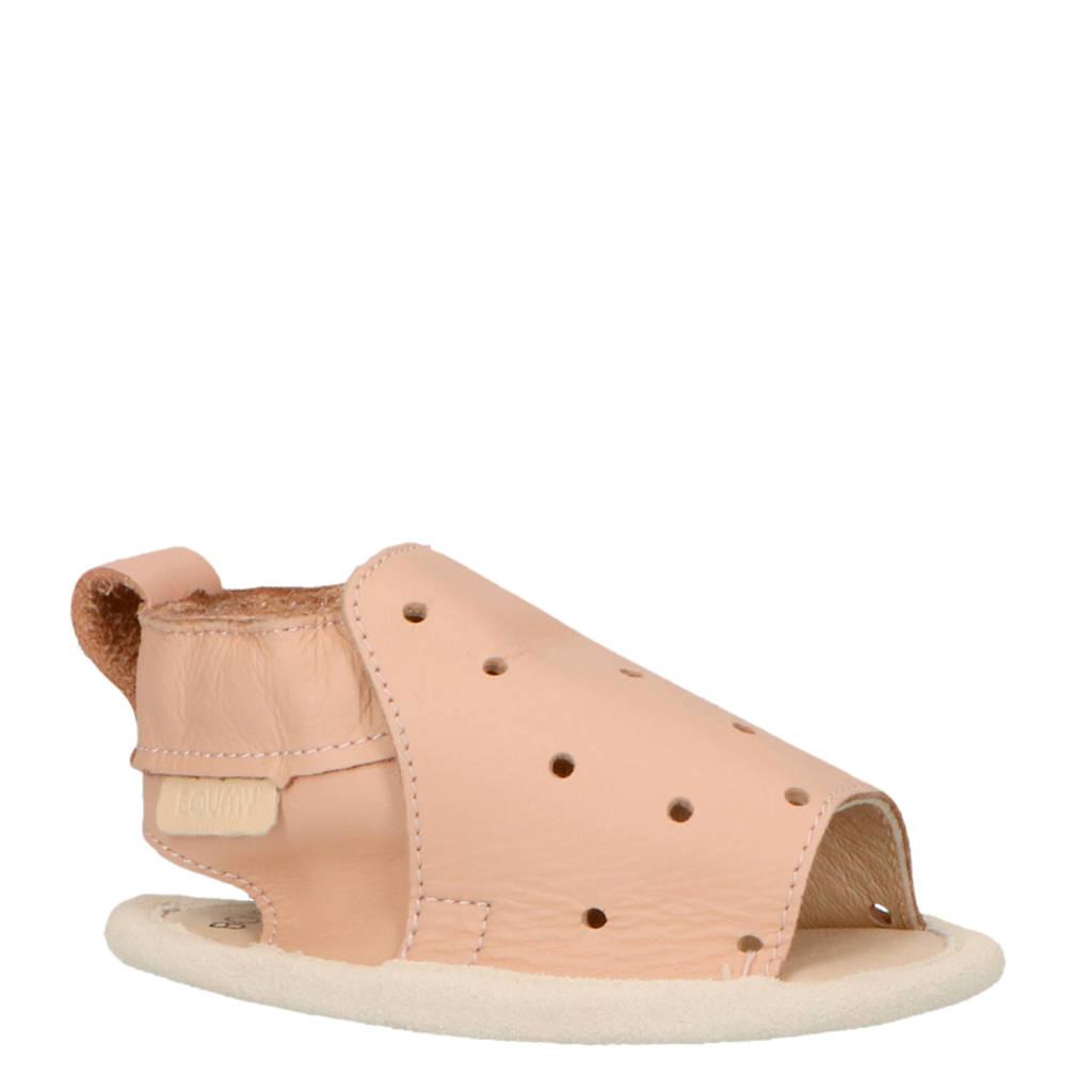 Boumy Sam leren sandalen roze, Roze