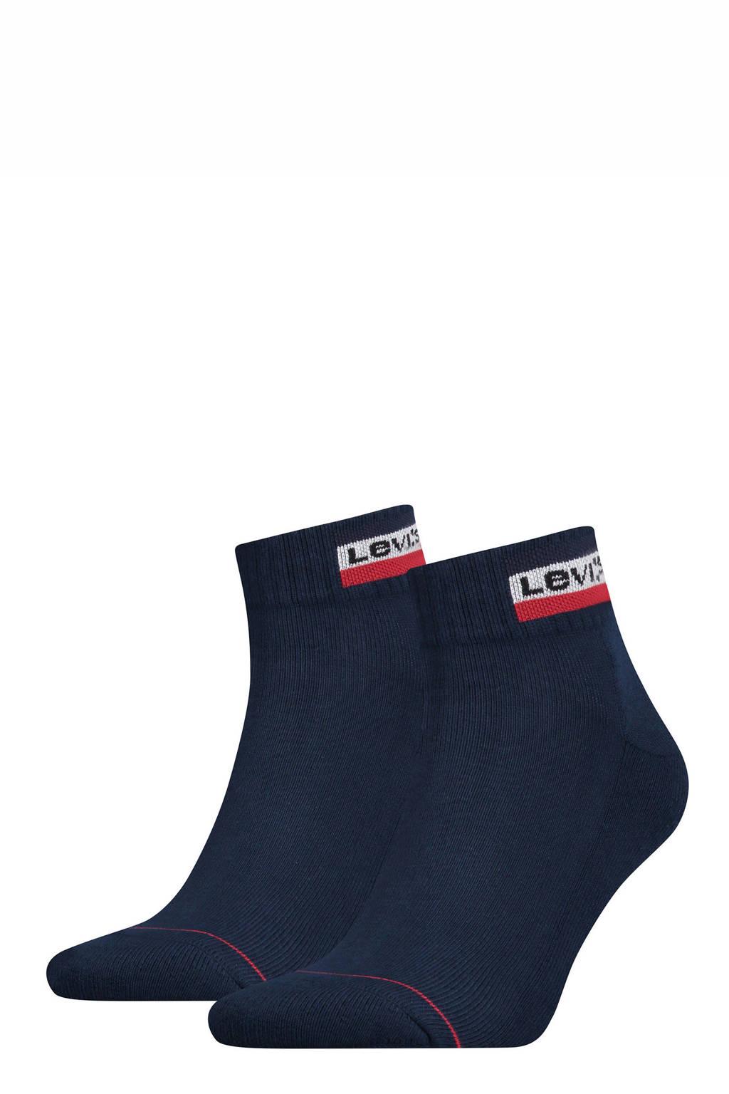 Levi's sokken set van 2 blauw, Blauw