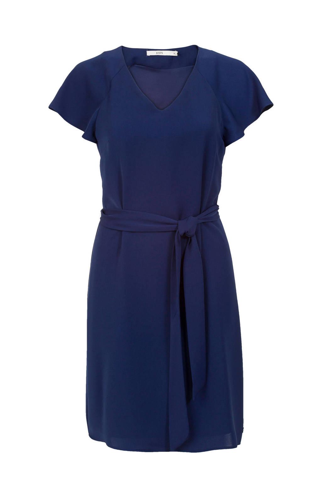 b582ac7d6f0559 Steps jurk donkerblauw