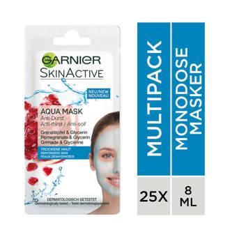 Skinactive Aqua gezichtsmasker -  (25 stuks)