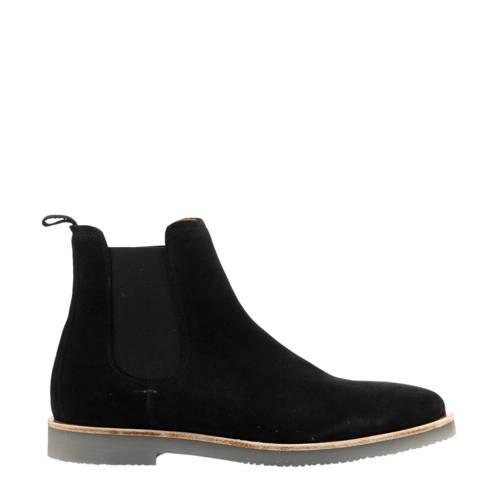 By Berry suède chelsea boots zwart kopen