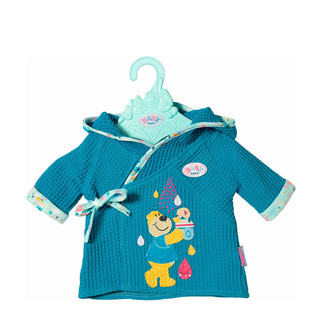 BABY born badjas blauw