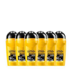 Invincible Sport deodorantroller - (6 stuks)